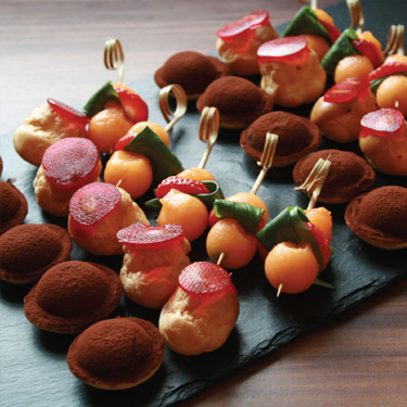 Sweet Canapes